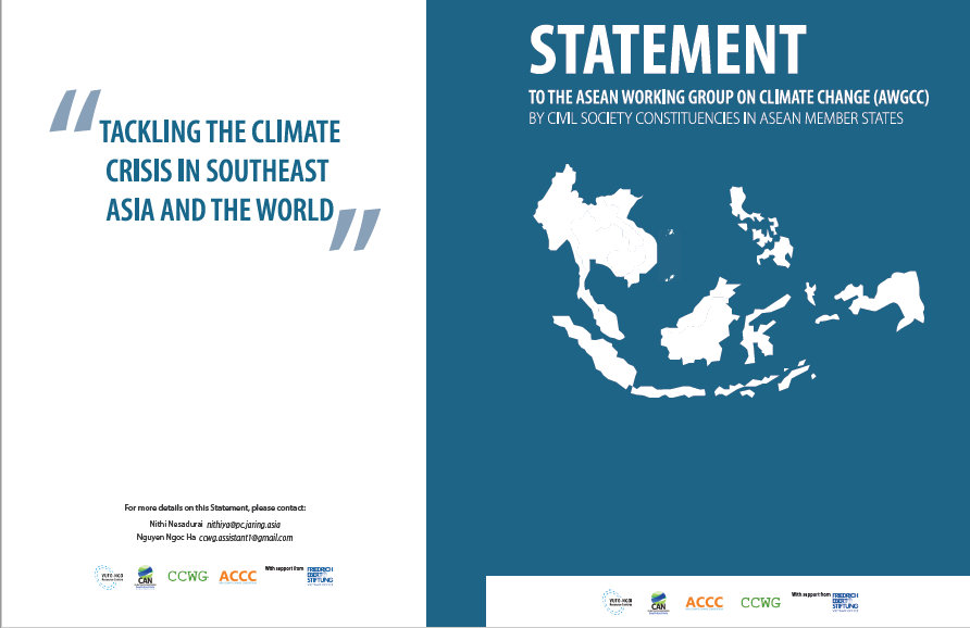 Joint Statement to AWGCC by Civil Society Constituencies in ASEAN Member States Aug 2020