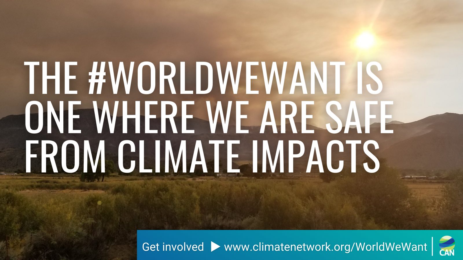 #WorldWeWant Campaign on Climate Impacts